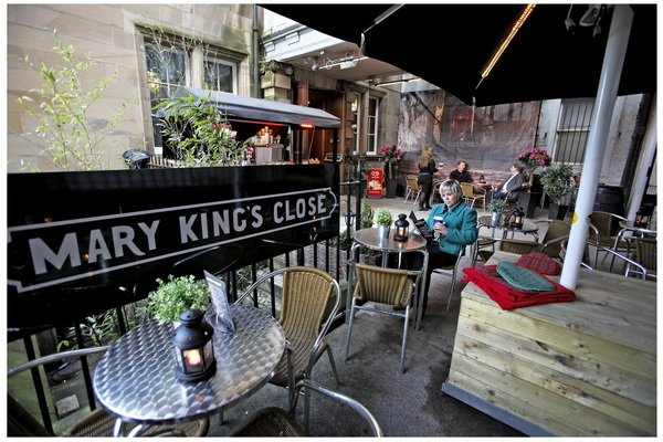 REAL MARY KING'S CLOSE, EDINBURGH.