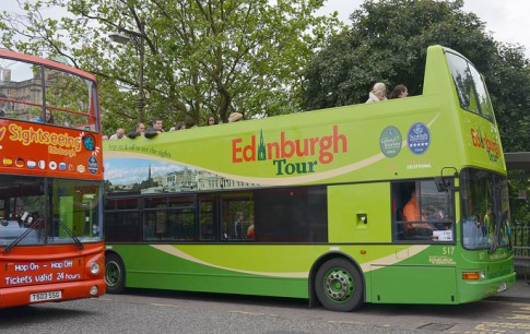 Edinburgh Tour Bus
