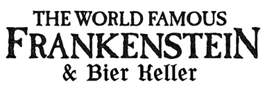 Frankenstein and bier keller logo