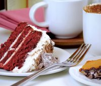 Indulgent Cake and Coffee