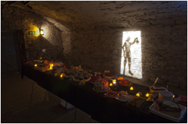 medieval banquet - private hire at Real mary Kings Close