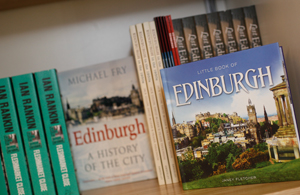 Scottish books - gift shop - The Real mary King's Close