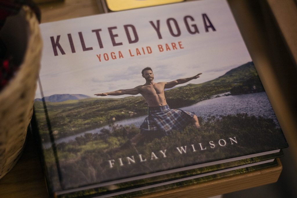 Kilted yoga_The real mary kings close gift shop