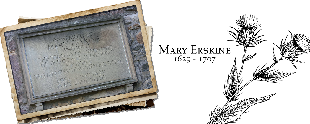 Mary Erskine - Powerful Women from Edinburgh's History