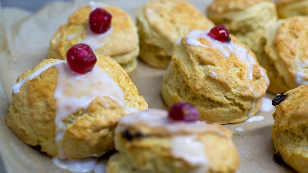 Best scones in Edinburgh at The Real Mary King's Close