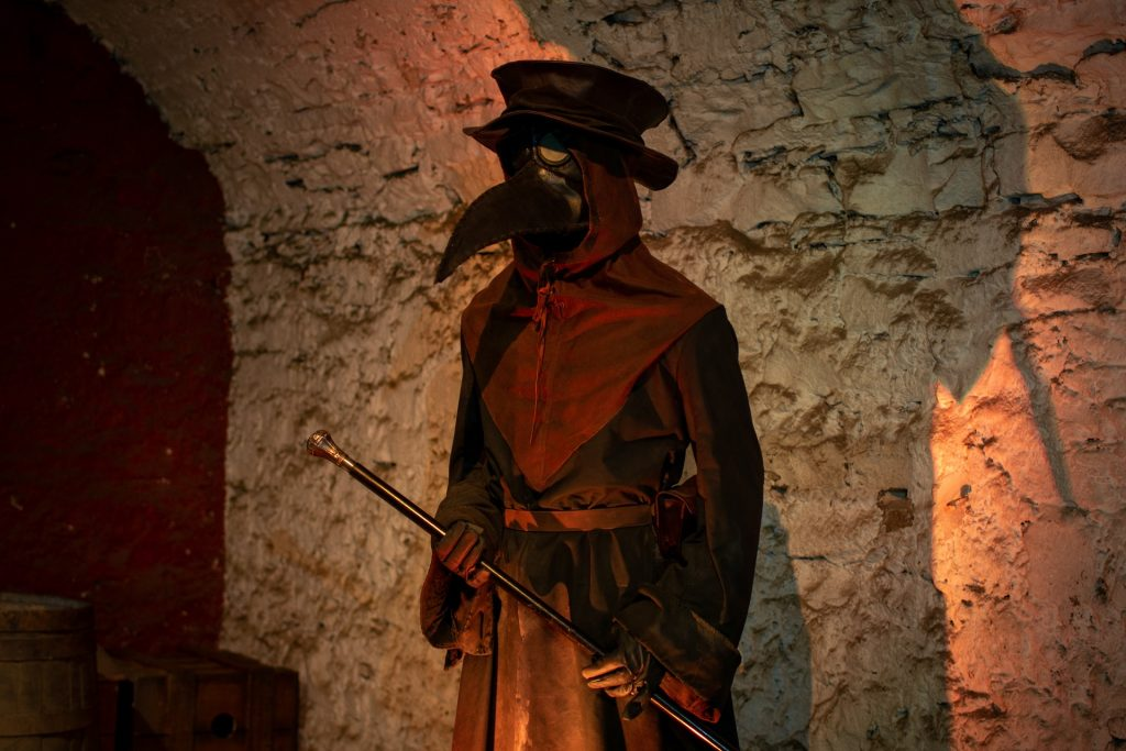 Plague Doctor George Rae The Real Mary King's Close